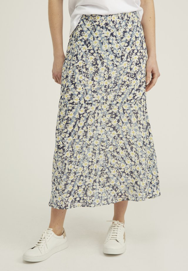 A-snit nederdel/ A-formede nederdele - blue