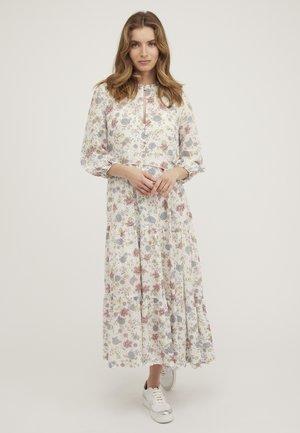 REVIVAL FLORAL - Maxi-jurk - white