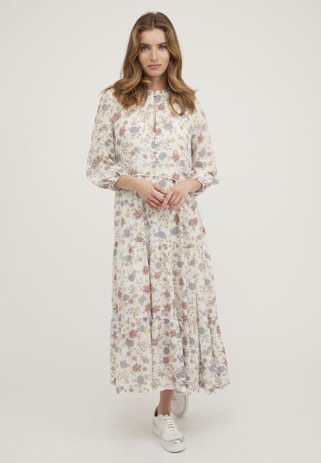 REVIVAL FLORAL - Robe longue - white