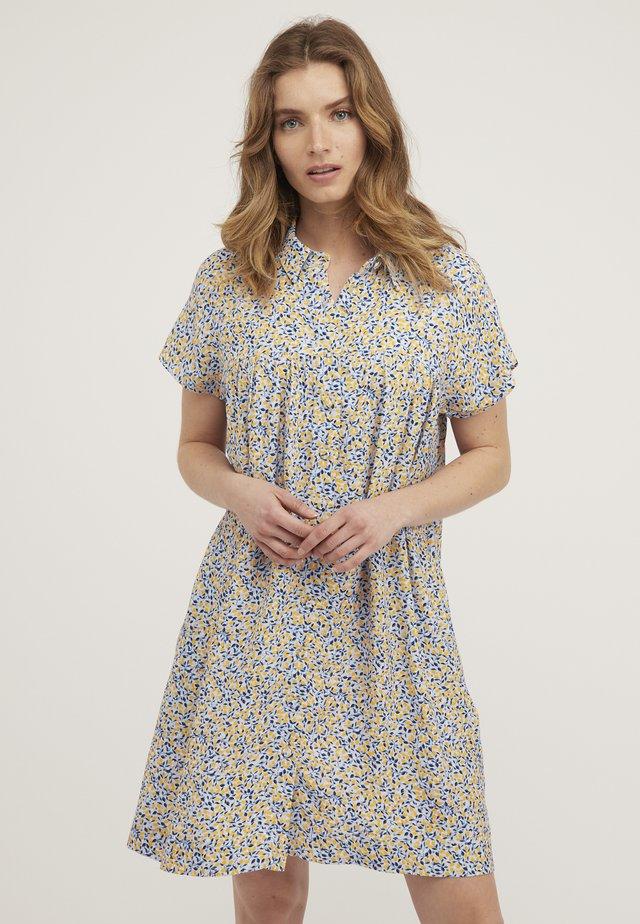 LEMON - Robe chemise - blue