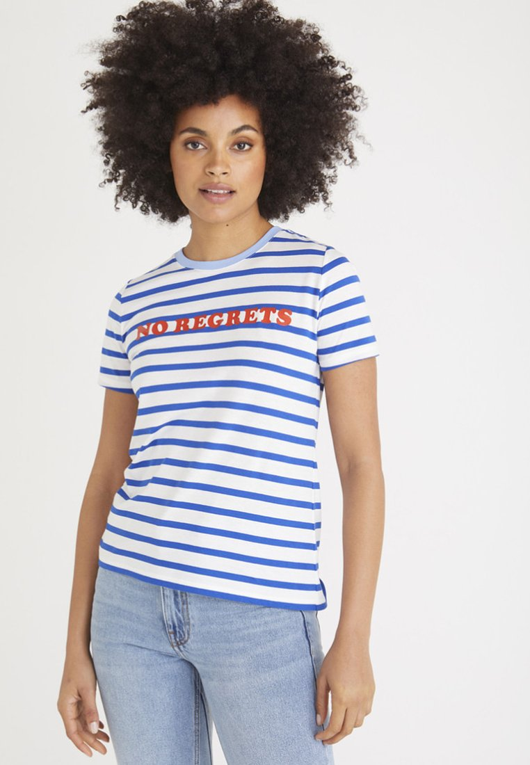 Oliver Bonas - Print T-shirt - blue