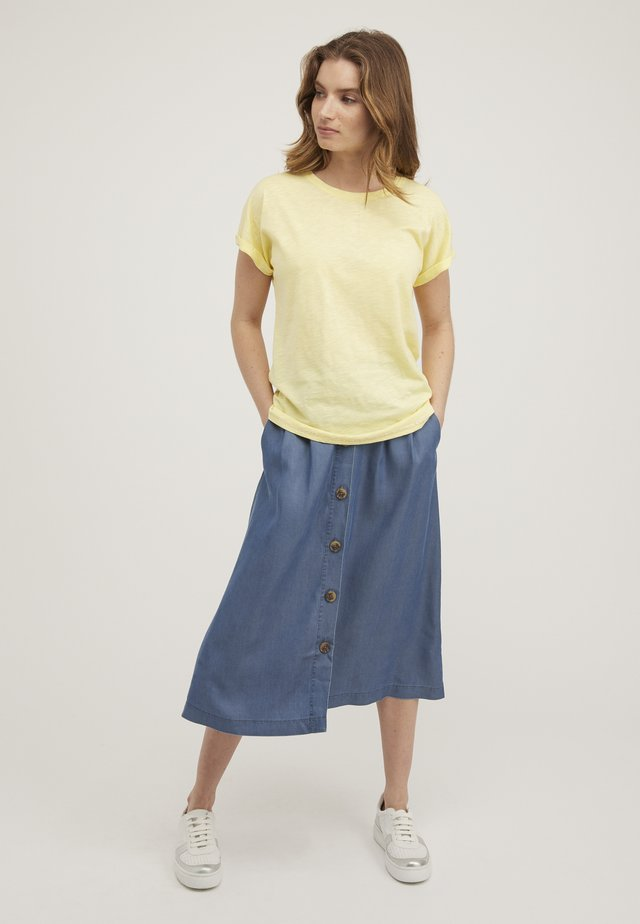 POPPER BACK  - T-shirt basique - yellow