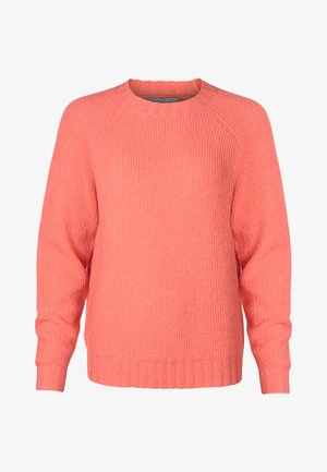 Strickpullover - coral