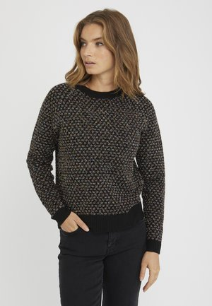 TINSEL SPOT  - Pullover - black