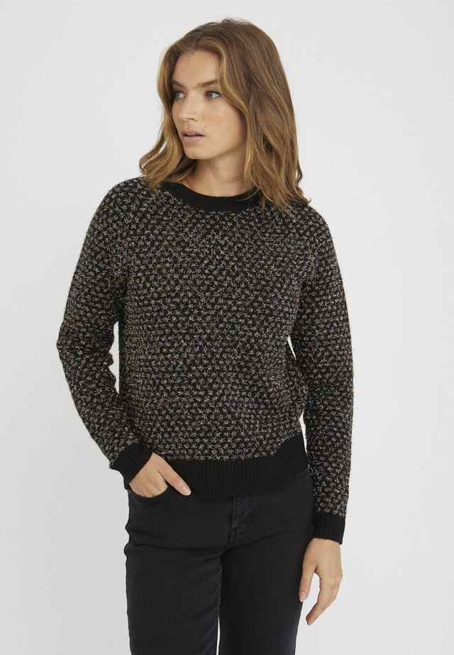 TINSEL SPOT  - Sweter - black