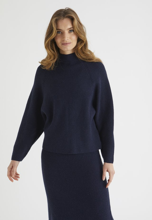 FISHERMAN  - Sweter - navy