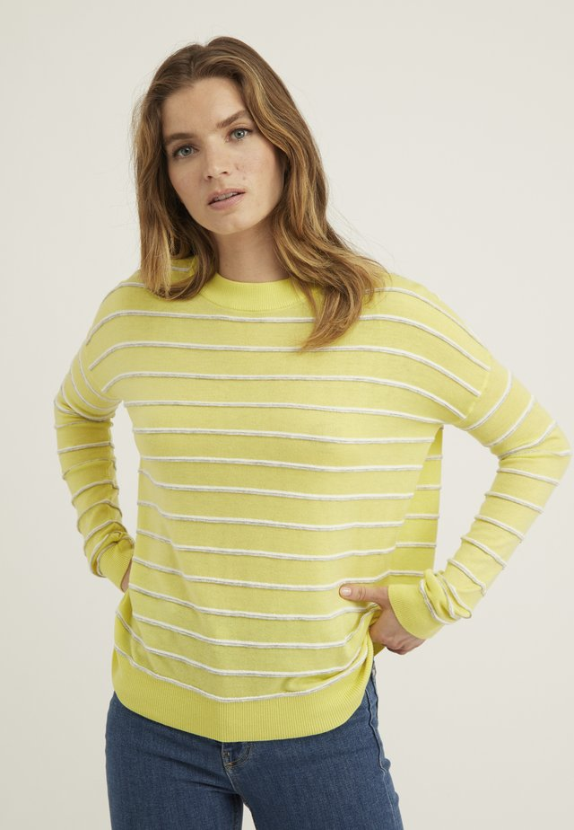 Sweter - yellow