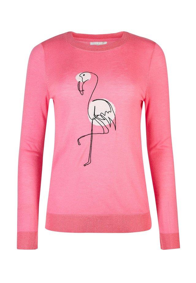 FLAMINGO MOTIF  - Jersey de punto - pink