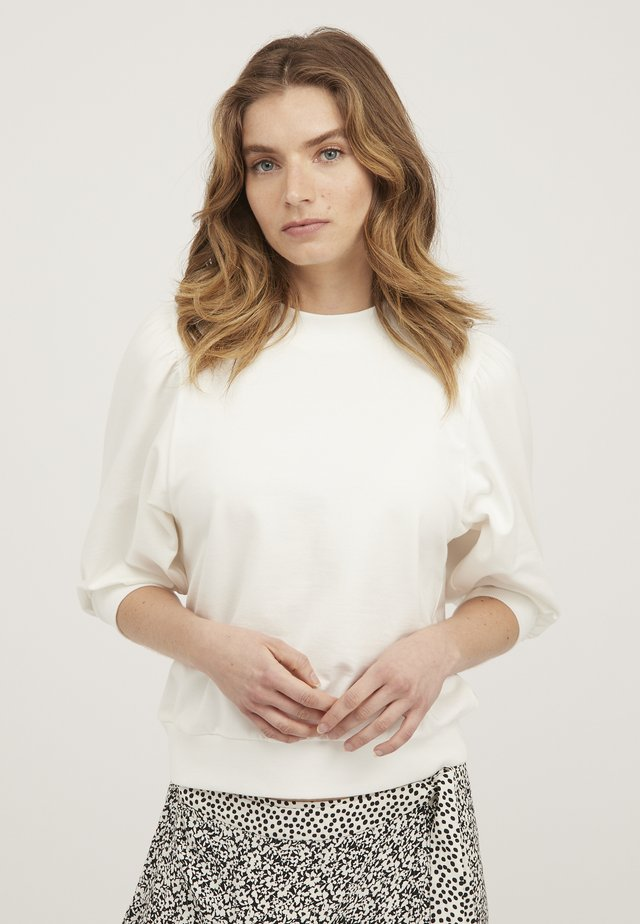 PUFF  - Sweatshirts - white