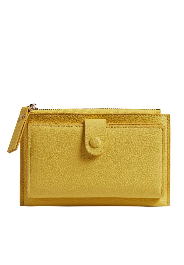 FOLD OVER PURSE - Wallet - yellow