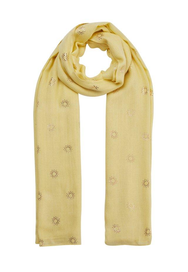 Scarf - jaune