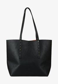 Oliver Bonas - RAYNE STUDDED  - Shopping Bag - black - 1