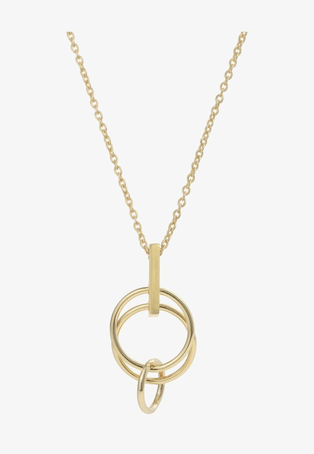 PRIMO MINI INTERLINKED CIRCLES - Necklace - gold-coloured