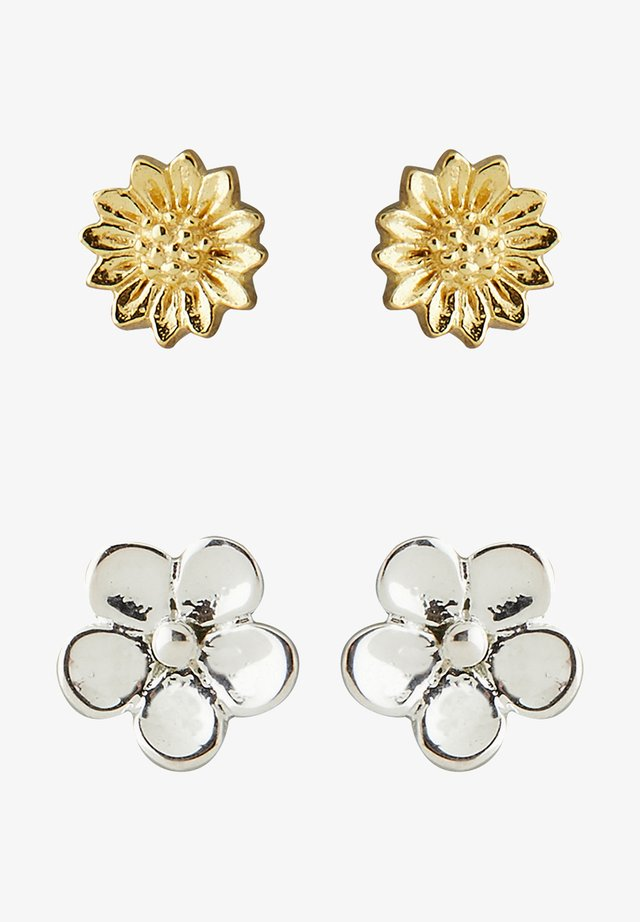 CASSIA SET OF TWO - Ohrringe - gold-colored