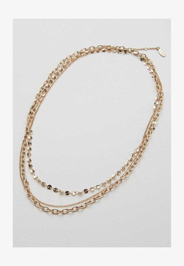 TRIPLE ROW  - Necklace - multi