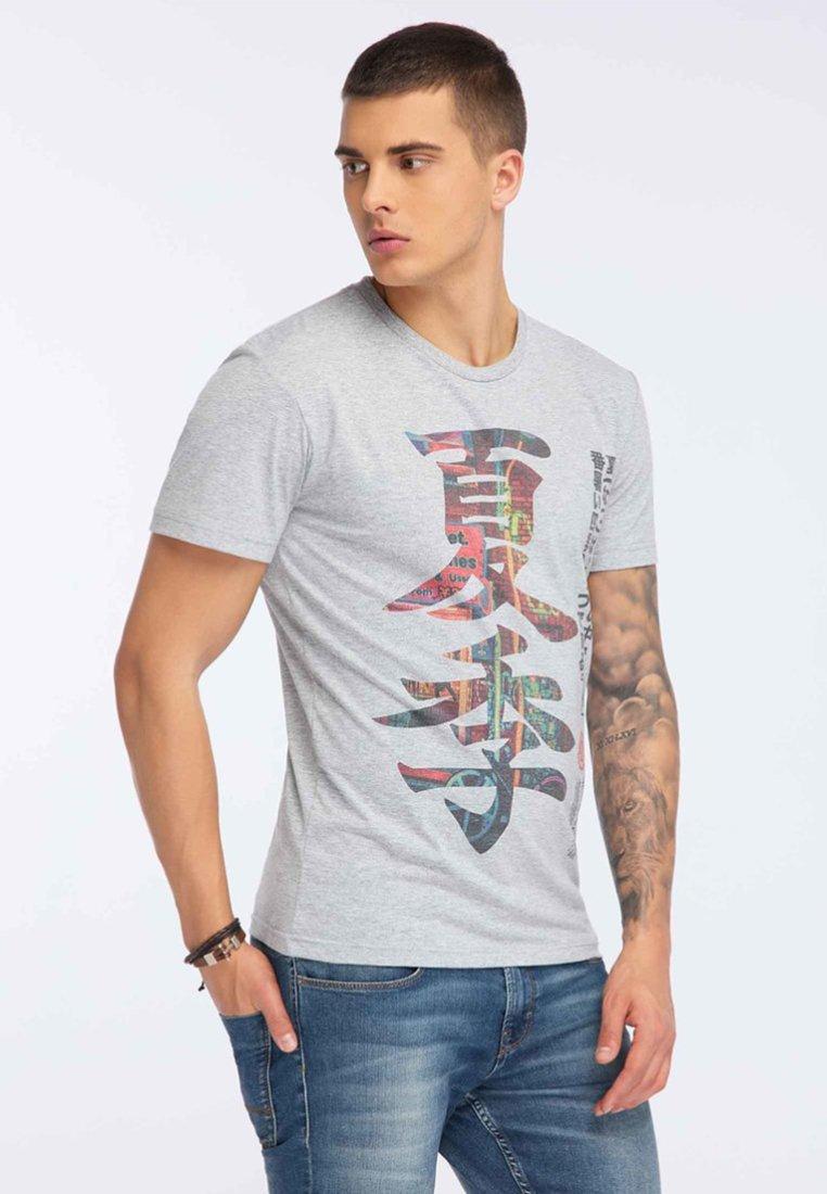 Oldskull - T-shirt print - grey melange