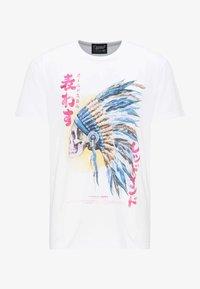 Oldskull - OLDSKULL T-SHIRT PRINT - T-shirt imprimé - white - 4