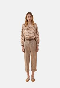 Oltre - Trousers - brown - 1