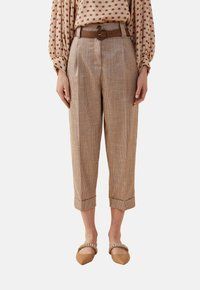 Oltre - Trousers - brown - 0