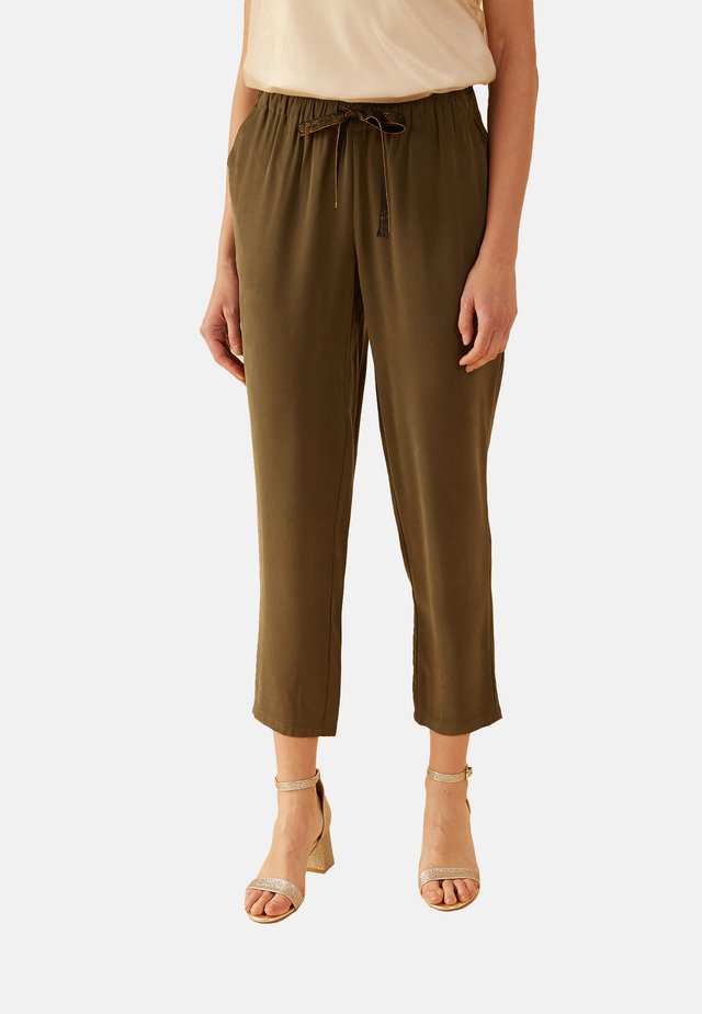 Trousers - verde