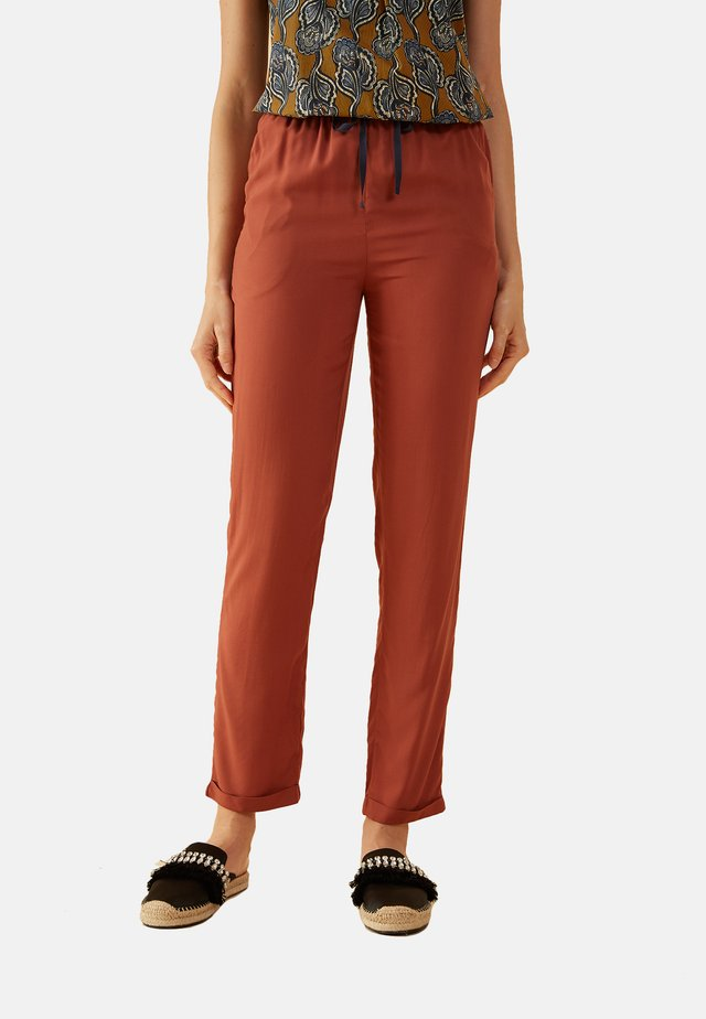 Trousers - arancione