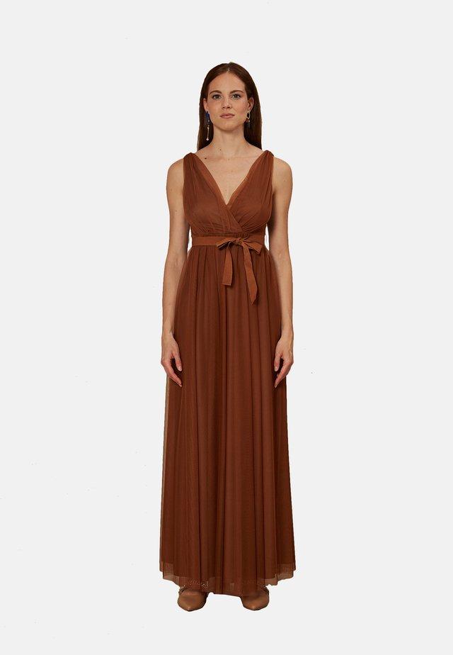 Maxi dress - marrone