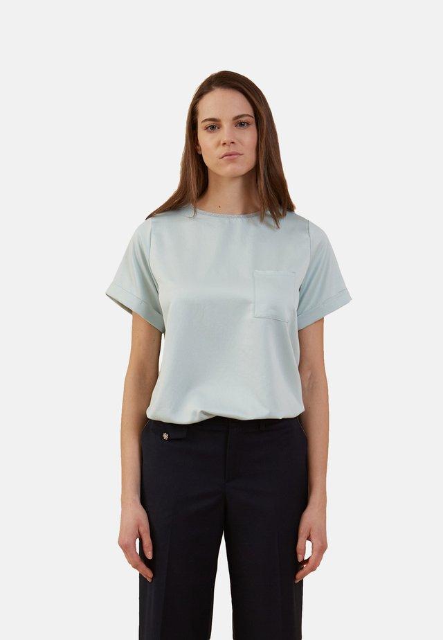 BIMATERIA CON BOLSILLO - Basic T-shirt - verde