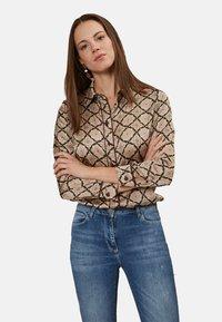 Oltre - Button-down blouse - pink - 0