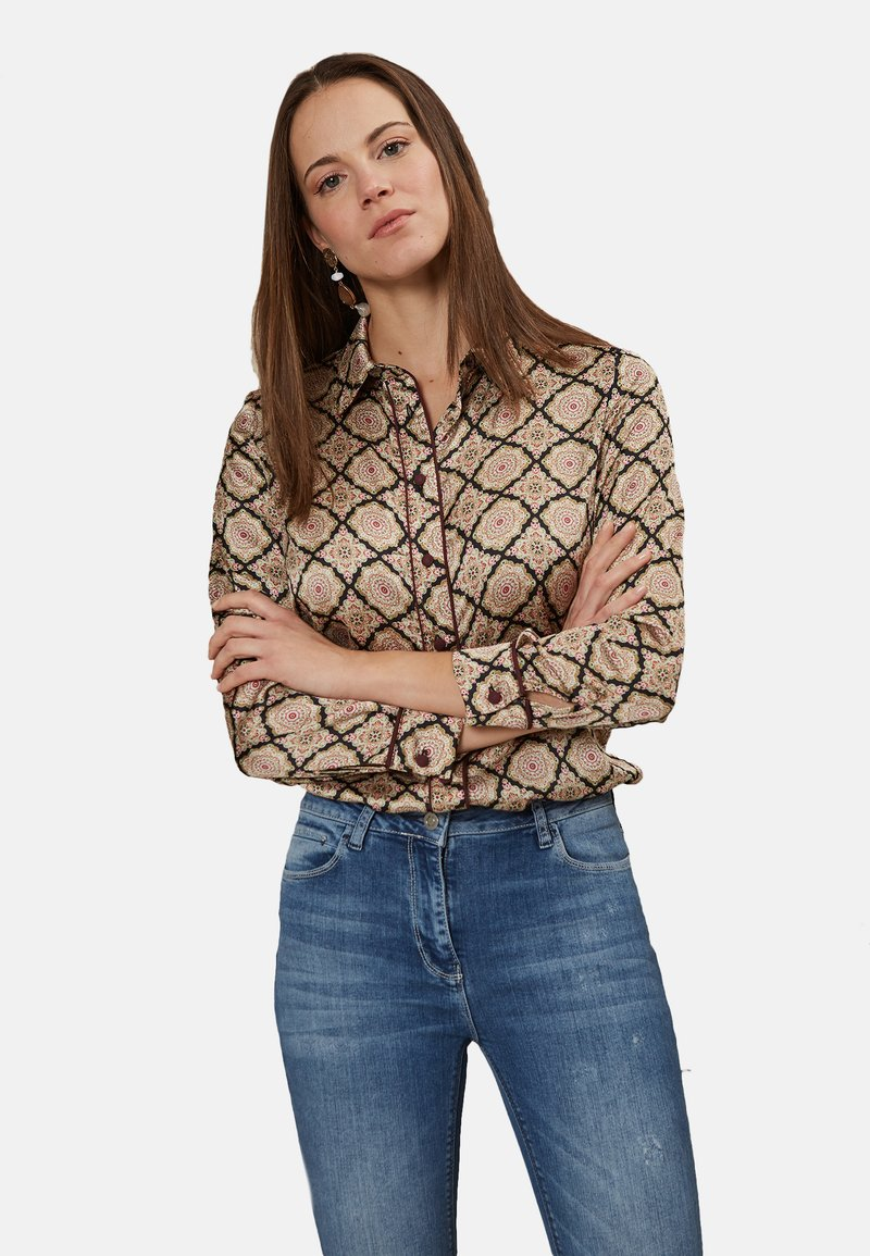 Oltre - Button-down blouse - pink