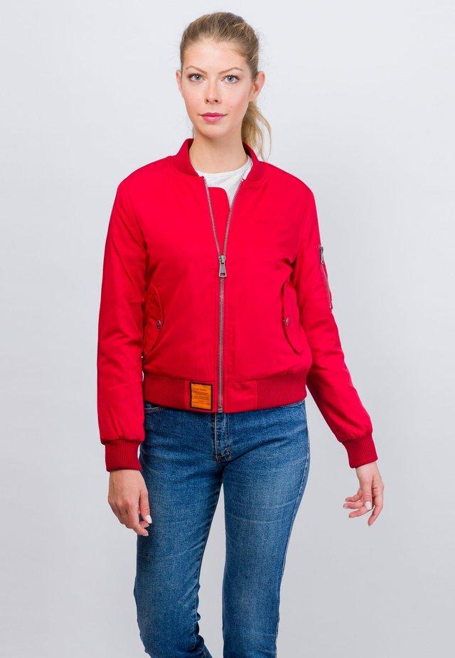 ORIGINAL - Blouson Bomber - red