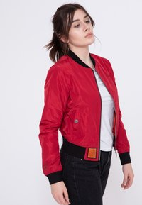 Bombers - Bomber Jacket - red - 4