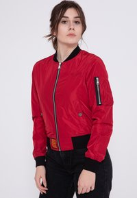 Bombers - Bomber Jacket - red - 0