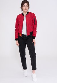 Bombers - Bomber Jacket - red - 1