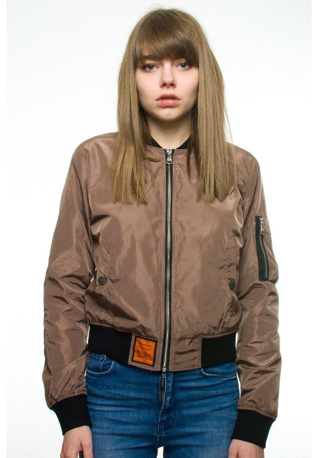 Blouson Bomber - brown