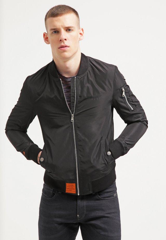 HOMME  - Bomber Jacket - black