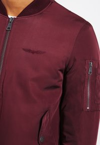 Bombers - ORIGINAL  - Bomberjacks - burgundy - 3