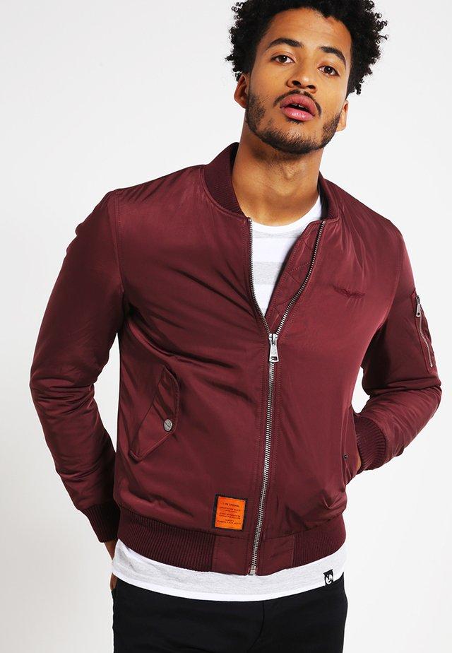 ORIGINAL  - Bomber Jacket - burgundy