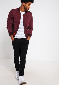 Bombers - ORIGINAL  - Bomberjacks - burgundy - 1
