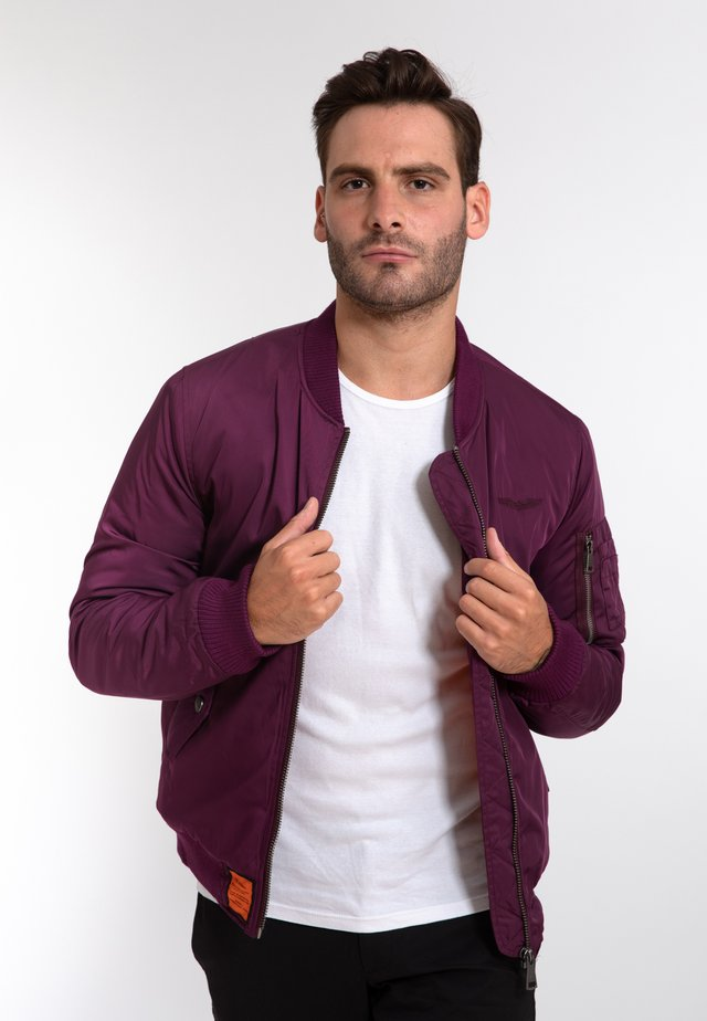 ORIGINAL  - Bomber Jacket - purple