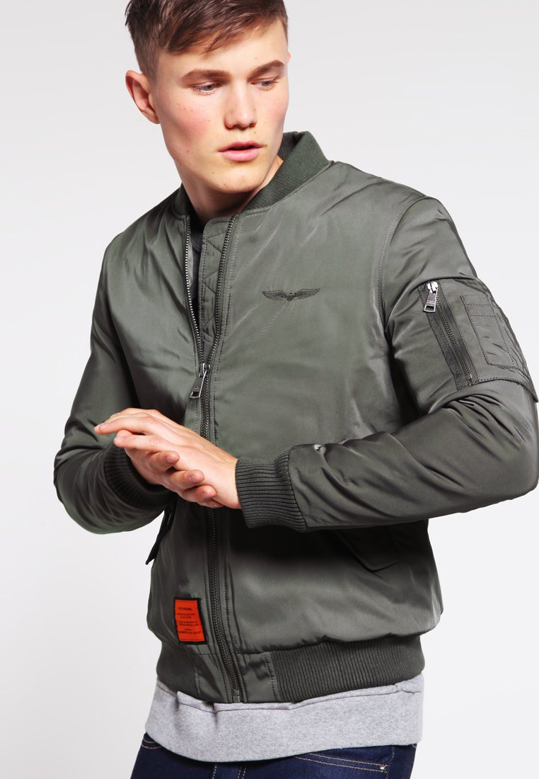 Bombers - ORIGINAL  - Bomber Jacket - khaki