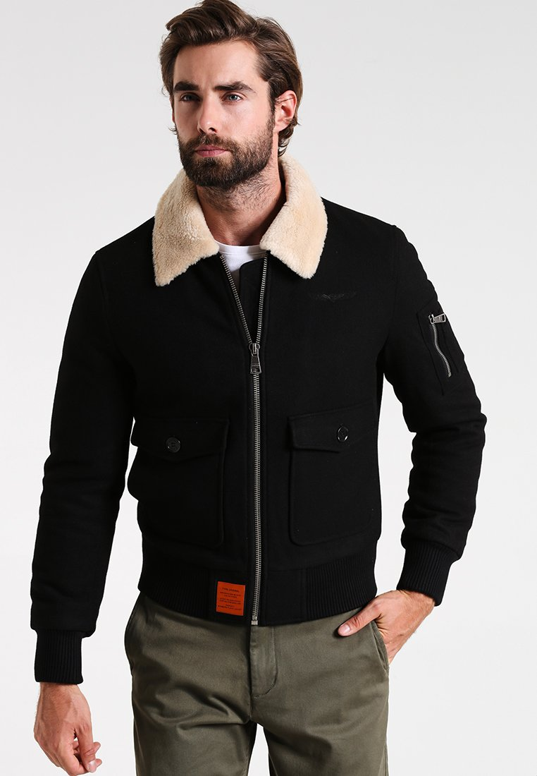 Bombers - AVIATOR - Light jacket - black