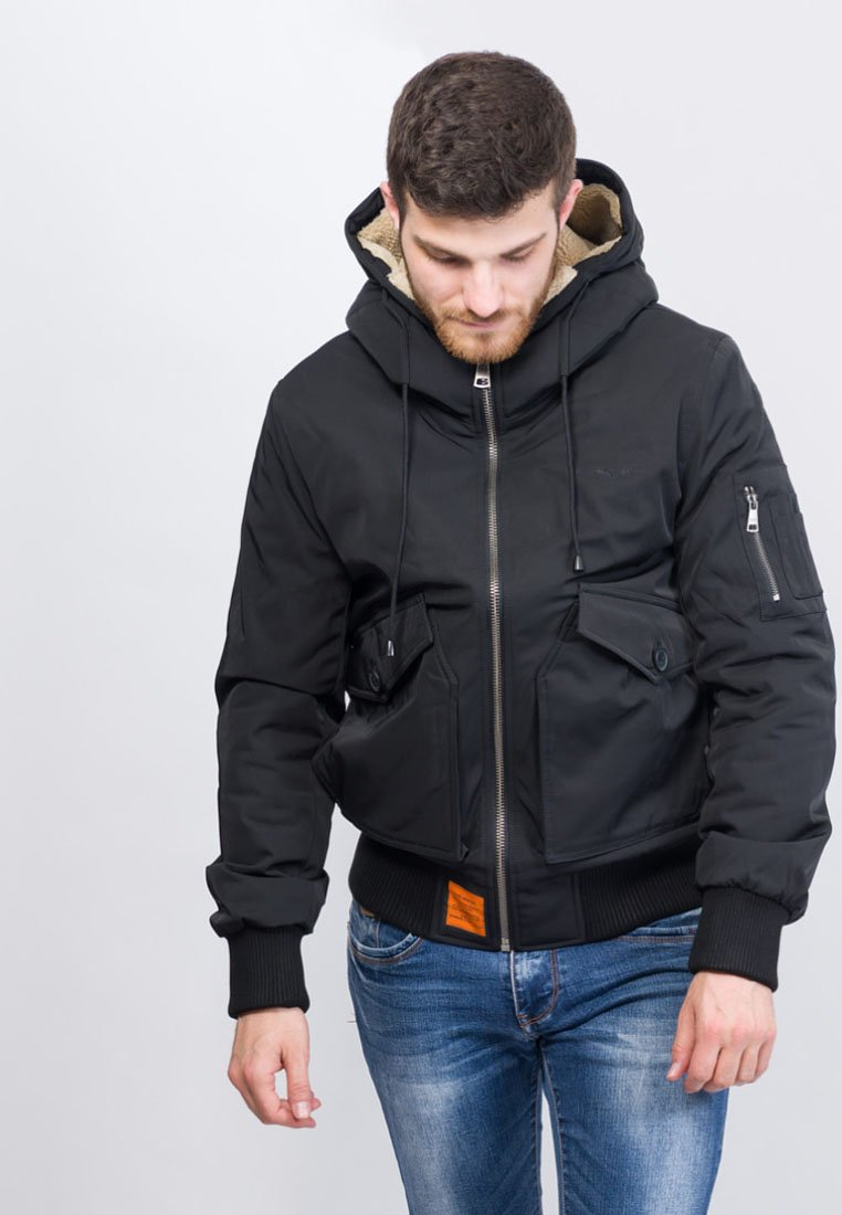 Bombers - VAIL - Winter jacket - black