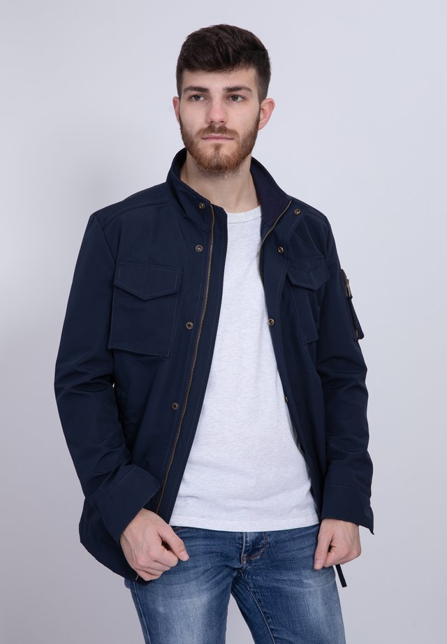 WHARF - Summer jacket - navy