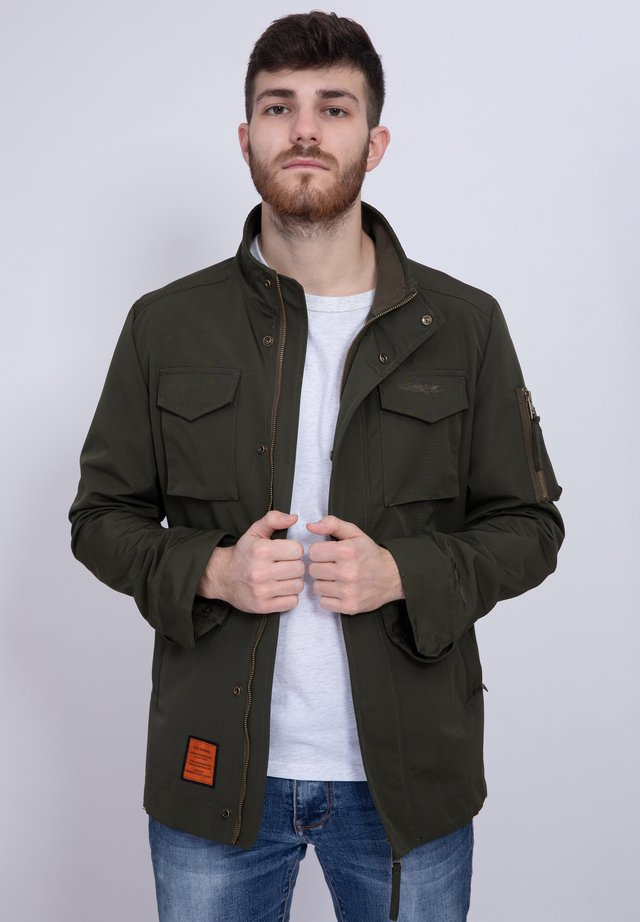WHARF - Summer jacket - khaki