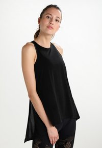 Onzie - TIE BACK TANK - Top - black - 0