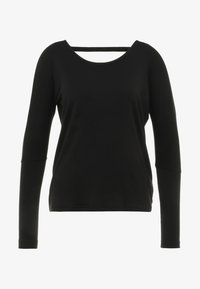 Onzie - DRAPEY BACK - T-shirt à manches longues - black - 4