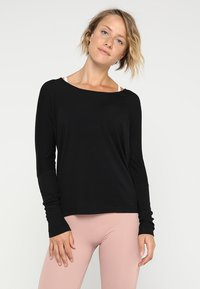 Onzie - DRAPEY BACK - T-shirt à manches longues - black - 2