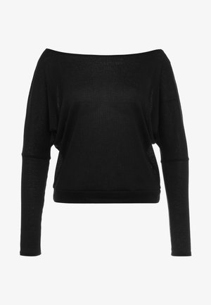 OFF SHOULDER - Longsleeve - black