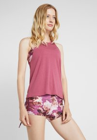 Onzie - FLOW TANK - Top - mauve - 0