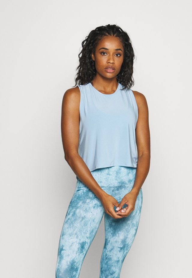 TEMPO TANK - Linne - light blue